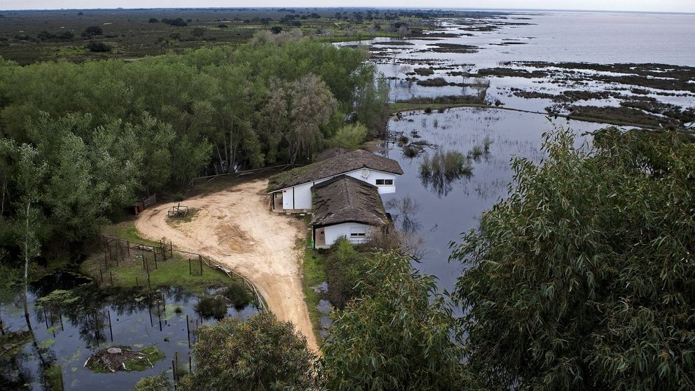 El dragado del Guadalquivir en Sevilla achica agua