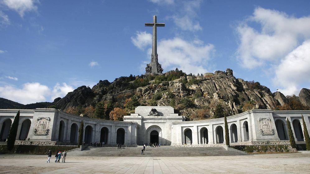 Foto: Vista general del Valle de los Caídos, situado en el municipio de San Lorenzo de El Escorial. (EFE)