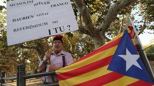 Nunca hasta ahora Cataluña había pedido la independencia