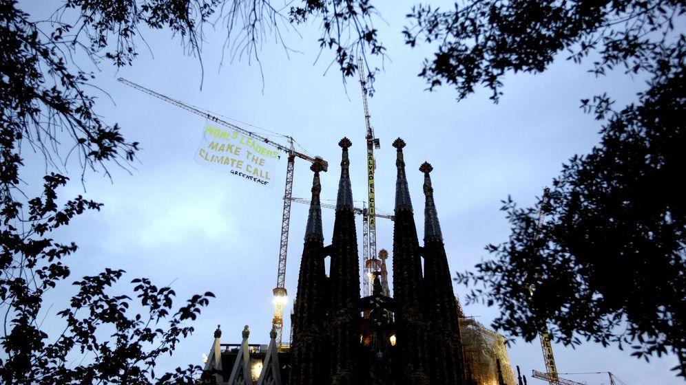 Foto: La Sagrada Familia de Barcelona. Foto: Efe.