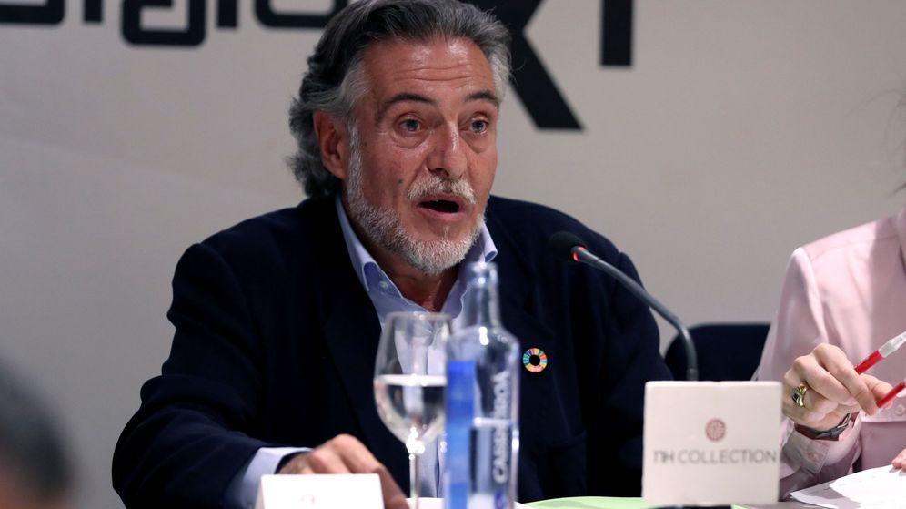 Foto: Pepu Hernández, durante un coloquio en Madrid (EFE)