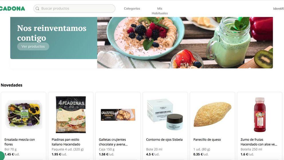De compras en la nueva web de Mercadona: rápido, fácil y con 'impuesto revolucionario'