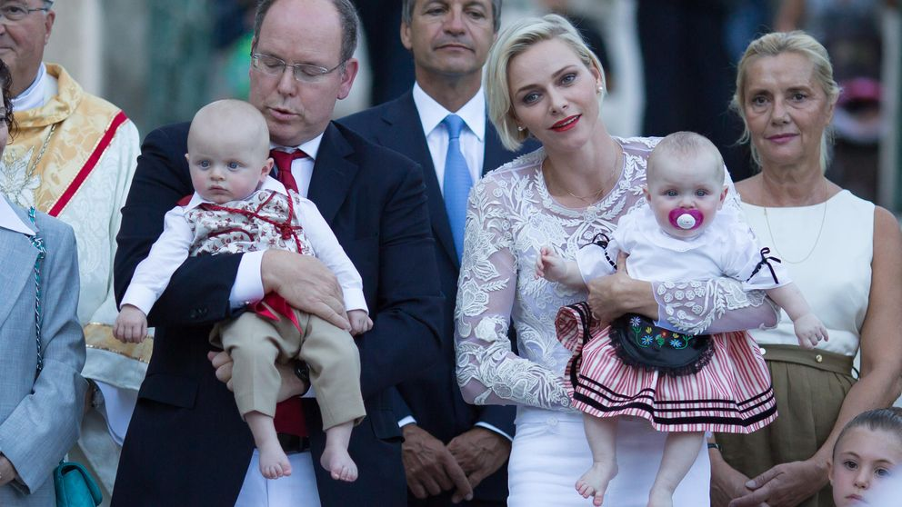 Las primeras palabras de los hijos de Alberto de Mónaco, que ya 'chapurrean' dos idiomas