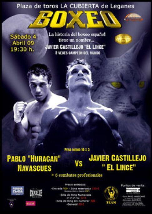 Foto: Castillejo vuelve a un ring español cuatro años después
