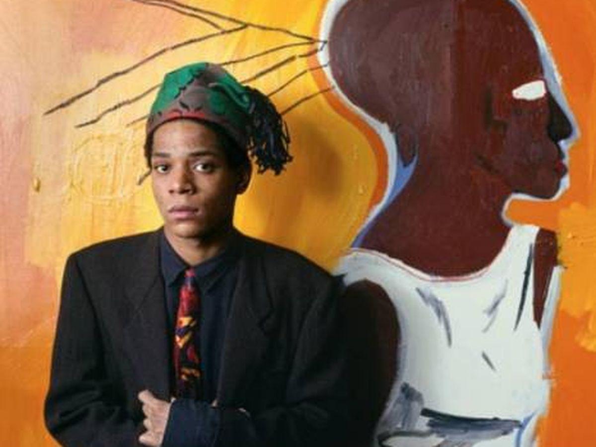 Foto: Basquiat. (Instagram @basquiat_archive)