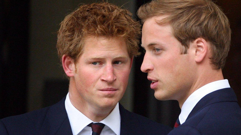 Foto: Los príncipes Guillermo y Harry en una imagen de archivo (Gtres)