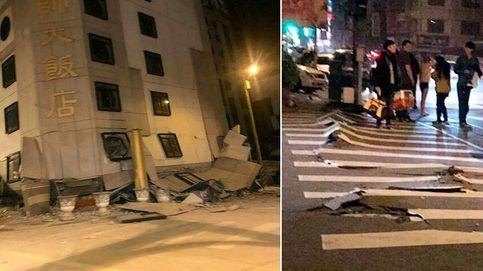 Un terremoto en Taiwán deja cuatro muertos y cientos de personas atrapadas en edificios