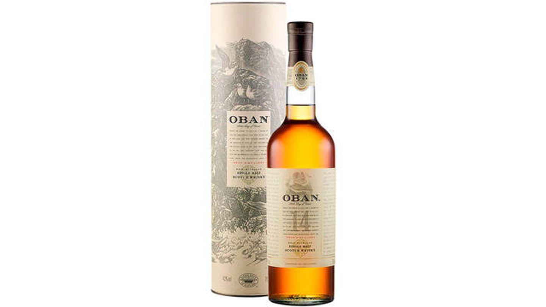 Whisky puro escocés OBAN 14