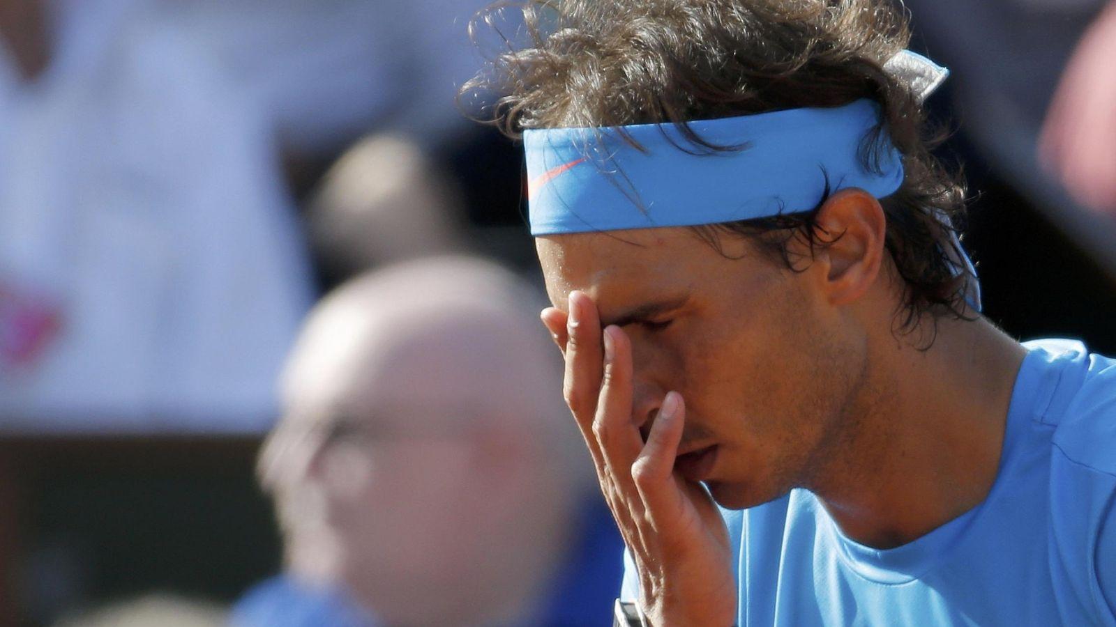 Foto: Rafa Nadal durante el último Roland Garros (Reuters).