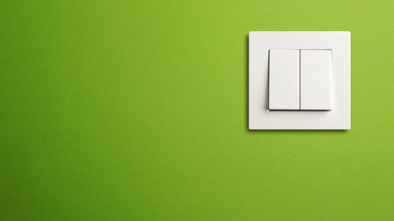 Los interruptores es una de los lugares con más gérmenes. (iStock)