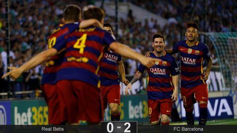 El Barça no necesita ni un esprint para ganar al Betis y seguir liderando la liga