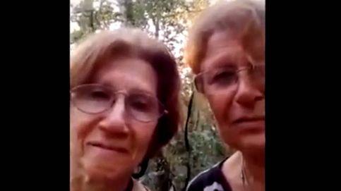 El divertido mensaje de dos abuelas perdidas en la selva para ser rescatadas
