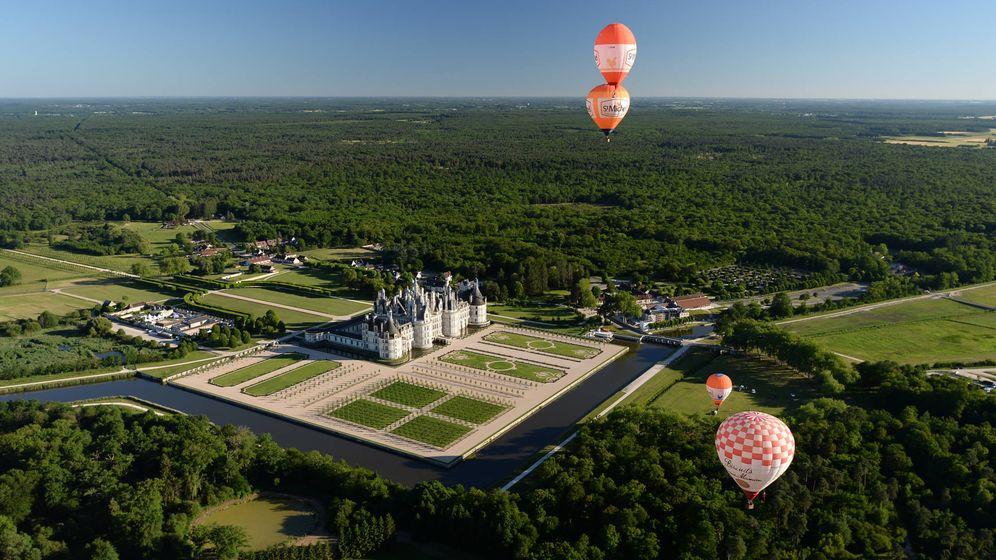 Foto: Paseo en globo. (Relais de Chambord)