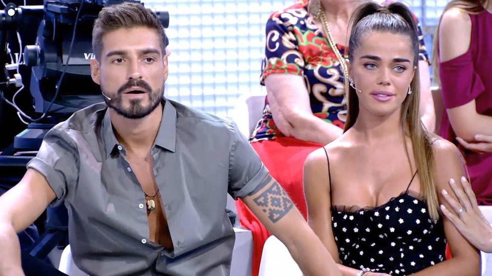 Foto: Fabio y Violeta en 'MYHYV'. (Mediaset España)
