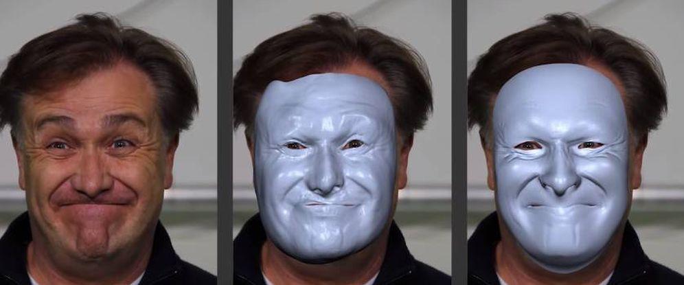 Foto: Modelado en tiempo real de la imagen. (Foto: Disney Research)