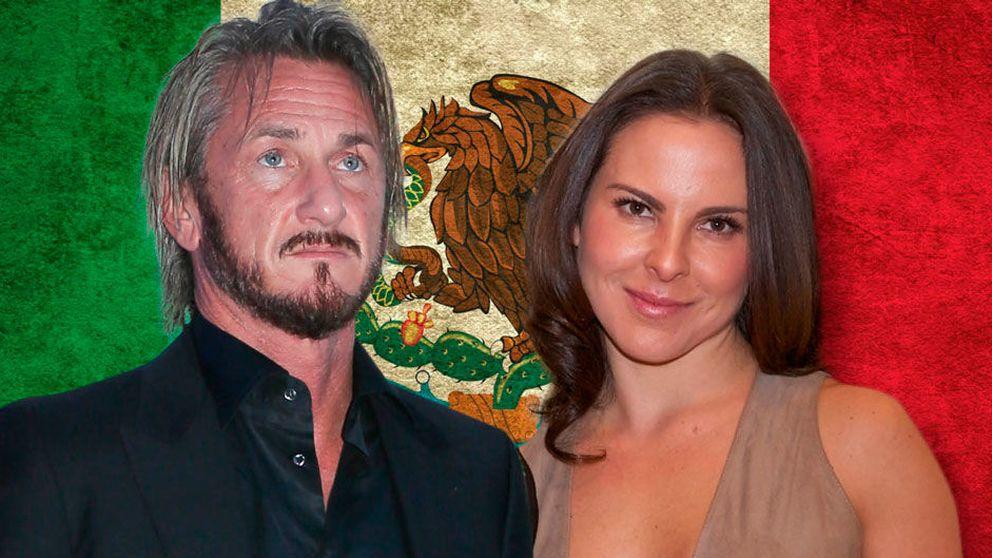La peligrosa relación entre Sean Penn y la actriz mexicana Kate del Castillo