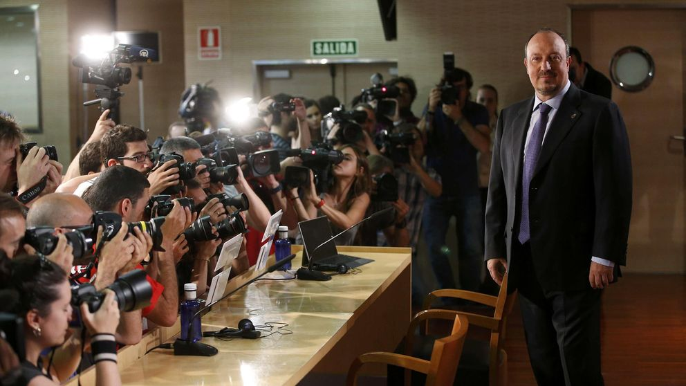 Benítez se pone a la cabeza de la campaña contra Florentino