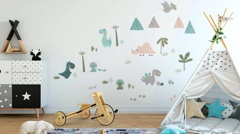 Crea la mejor habitación infantil con estos vinilos de pared de Leroy Merlin