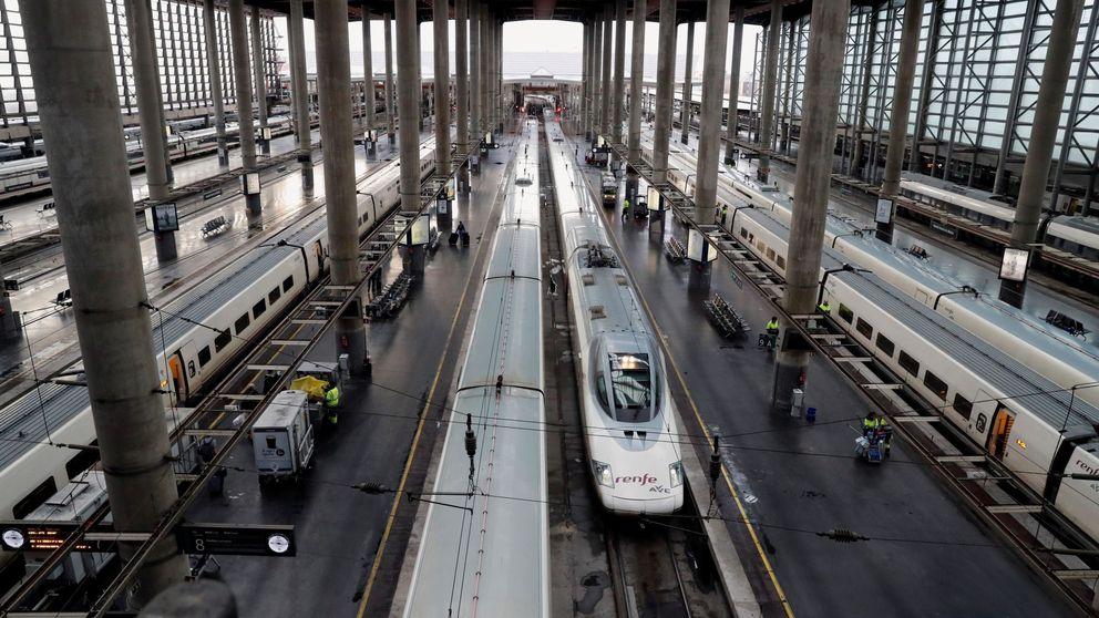 Renfe cancela 271 trenes por la huelga de CGT en plena operación salida de Navidad