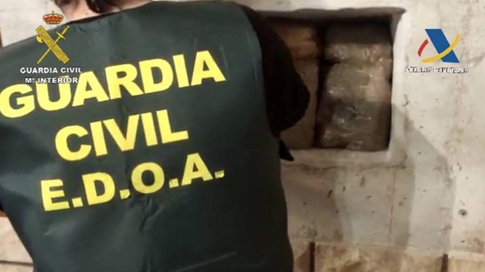 Foto: Imagen de la operación de la Guardia Civil. (Guardia Civil)