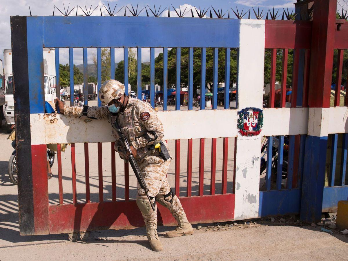 Foto: Frontera haitiano-dominicana. (EFE)