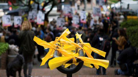 La pugna de los lazos amarillos