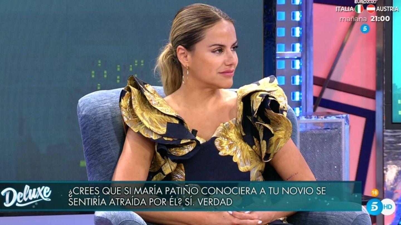 Mónica Hoyos, en 'Viernes Deluxe'. (Telecinco).