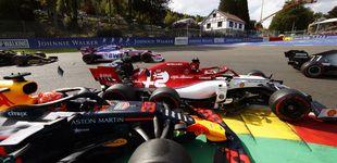 Post de Cómo falló Verstappen en el peor lugar y su compañero se comió la hierba por Red Bull