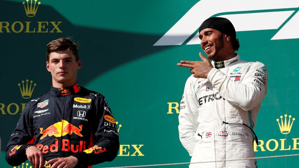 El duelo a muerte que aplaudió Fernando Alonso entre Lewis Hamilton y Verstappen