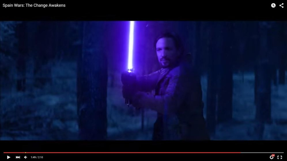 Foto: Pablo Iglesias en Spain Wars. (Youtube)