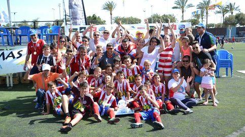El Atlético Gran Canaria también peleará por ser campeón del Mundial Alevín