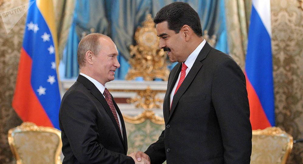Foto: Vladimir Putin y Nicolás Maduro. (Reuters)