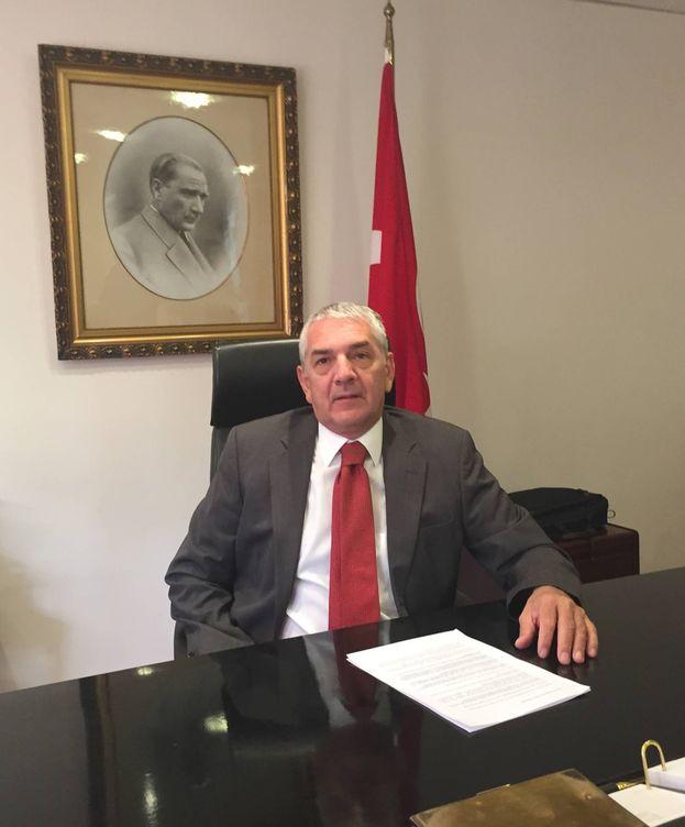 Foto: Ömer Önhon, embajador turco en España. (A.V.)