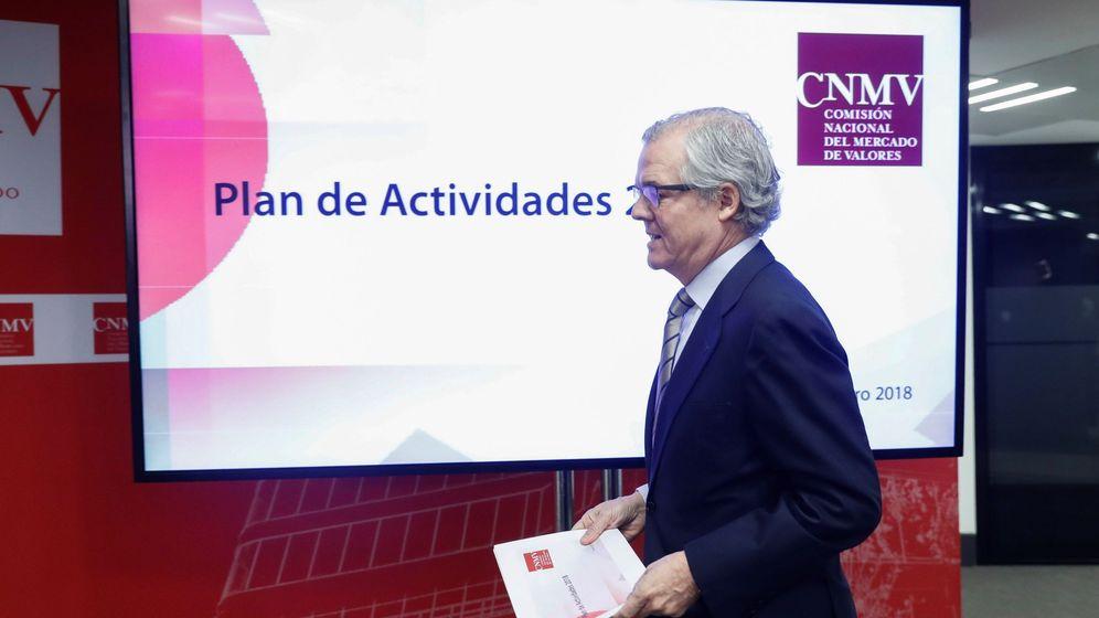 Foto: Sebastián Albella, presidente de la CNMV. (EFE)