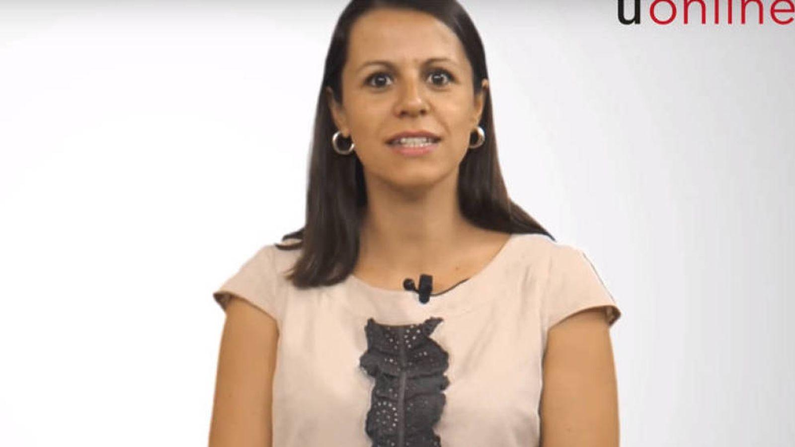 Foto: Alicia López de los Mozos, profesora de la Universidad Rey Juan Carlos. (YouTube)