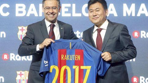 Rakuten pide explicaciones al Barça por la polémica racista de Dembelé y Griezmann