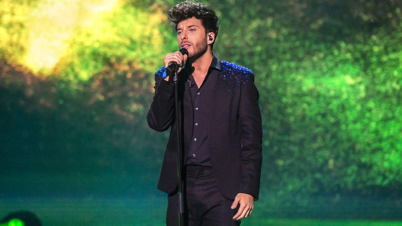 El cantante Blas Cantó en 'Destino Eurovisión'. (TVE)