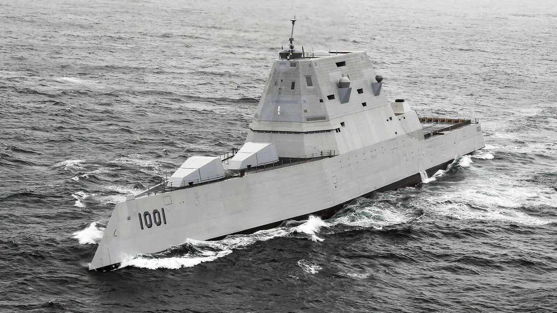 USS Michael Monsoor (DDG 1001). (US Navy)