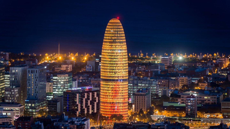 La torre Agbar, uno de los símbolos de Barcelona. (Efe)
