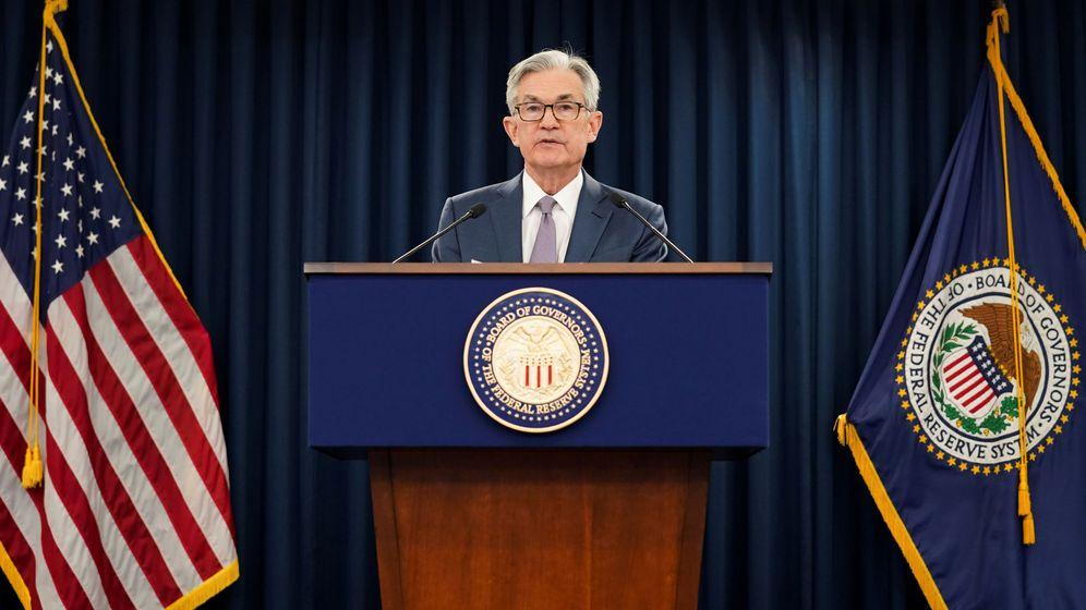 Foto: El presidente de la Fed, Jerome Powell. (Reuters)