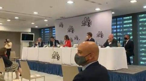 Boicot de las juventudes de Vox a un acto de Picardo con altavoz oculto: 'Gibraltar español'