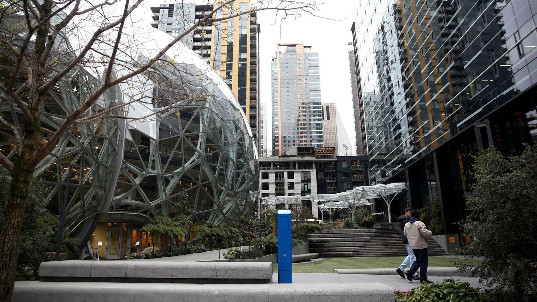 Las esferas de Amazon, en Seattle.(Reuters)