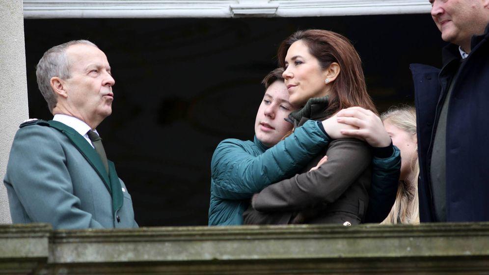 Foto: Mary y Christian de Dinamarca, este domingo. (Cordon Press)