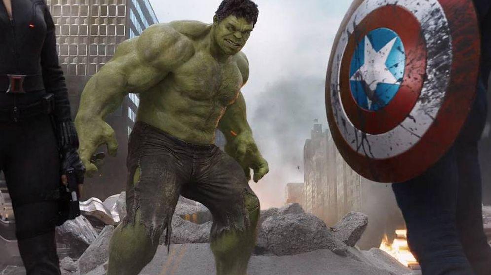 Foto: Hulk, candidato a protagonizar la nueva ficción de Disney+. (Marvel)