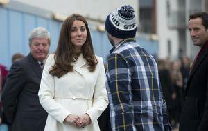 La duquesa de Cambridge, impecable a menos de dos meses de dar a luz