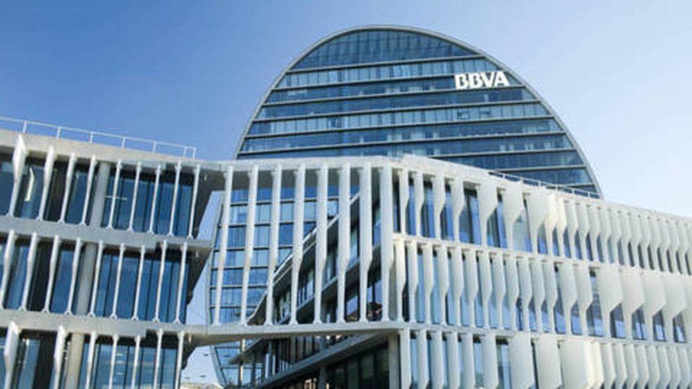 Foto: Sede del BBVA en Madrid