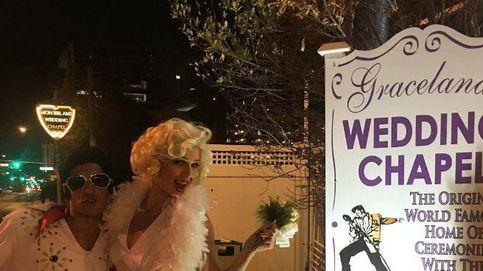 Cayetano Rivera y Eva González se casan en Las Vegas a lo Elvis y Marilyn Monroe