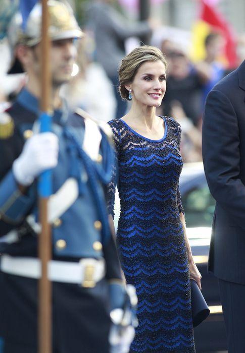 Foto: La Reina doña Letizia durante la entrega de Premios Príncipe de Asturias (Gtres)