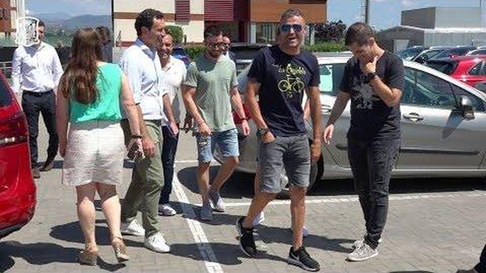 La llegada de Luis Enrique a Madrid para hacerse cargo de la Selección