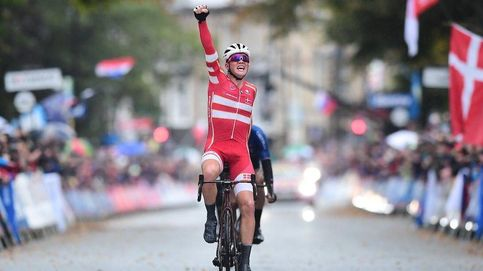 Pedersen, campeón del mundo de ciclismo por sorpresa (y sin Valverde por hipotermia)